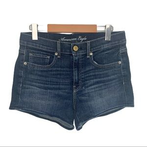 American Eagle Stretch Cut off Jean Shorts